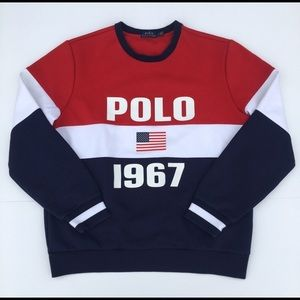 "Polo by Ralph Lauren ""Polo 1967"" Sweatshirt"